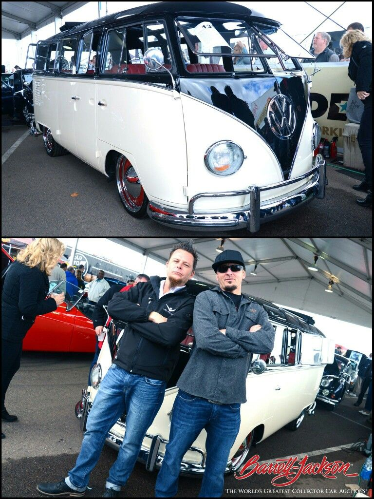 Dave Kindig of Kindig-It Design and the custom #VW #Bus at