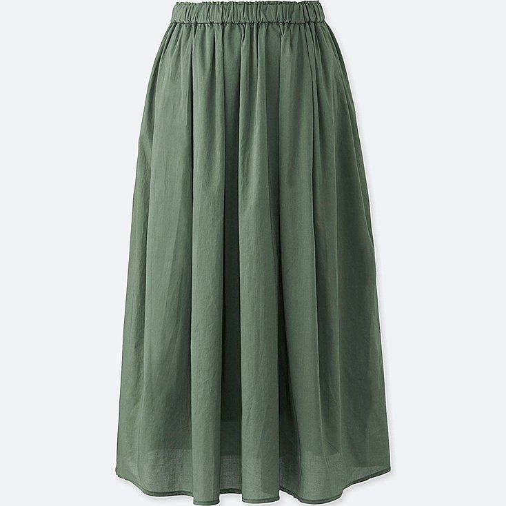 bb482f2bd UNIQLO Full Length Slip, Uniqlo, High Waisted Skirt, Waist Skirt, New  Outfits