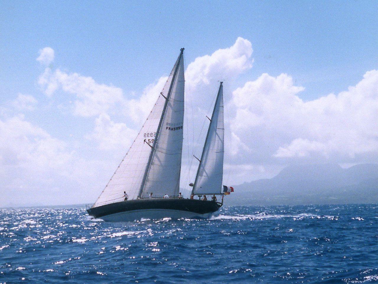 Transat 1999 Sur Pen Duick Vi Bateau A Voiles Yacht Voilier