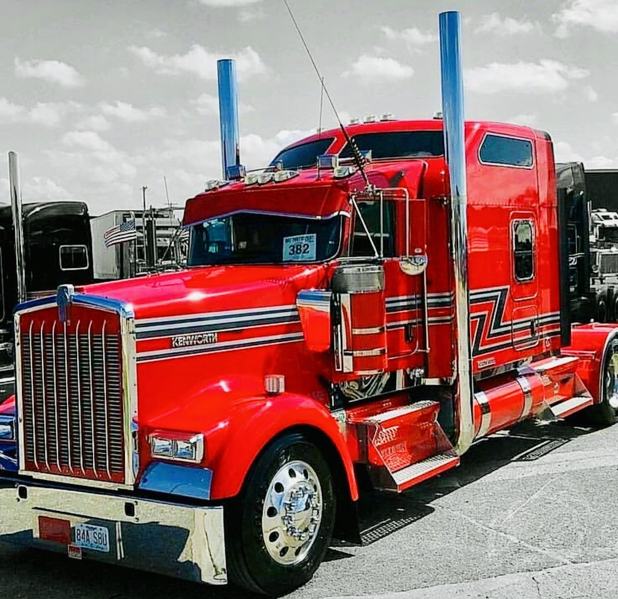 Pin by AkSledhead75 Tommy Boy on Lv Big Rigs Diesel