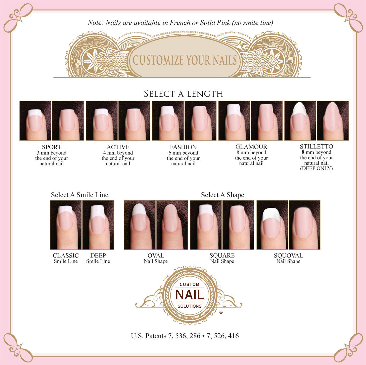 Custom Nail Solutions Impression System Prize Giveaway Nail Length Acrylic Nail Shapes Diy Wedding Nails