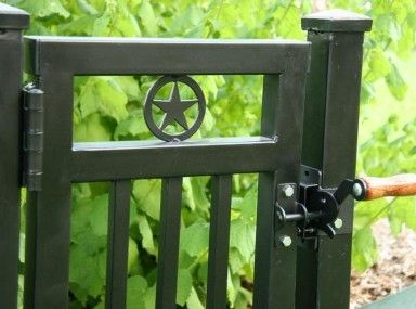 Tropical Wrought Iron Gate Latch Keep And Wrought Iron Gate Latch