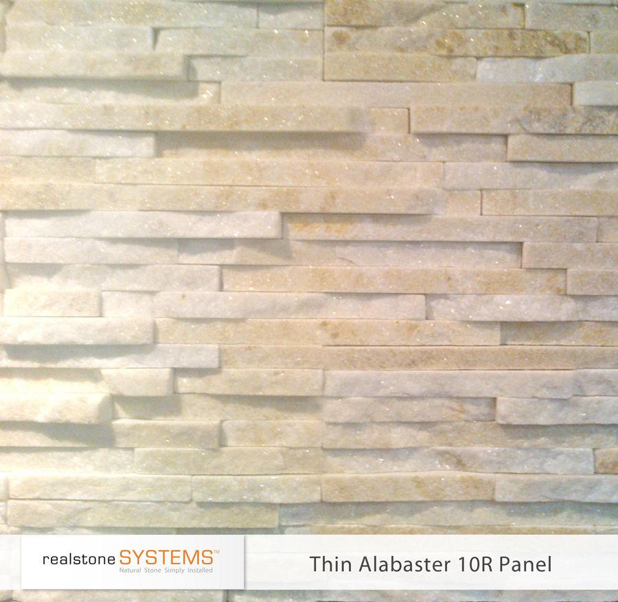 alabaster 10r thin stone veneer food pinterest rough