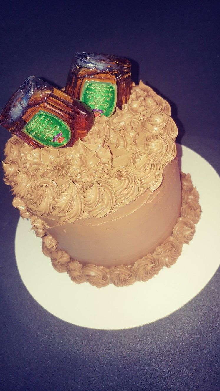 Crown Apple Butter Cake With Salted Caramel With Images Liquor