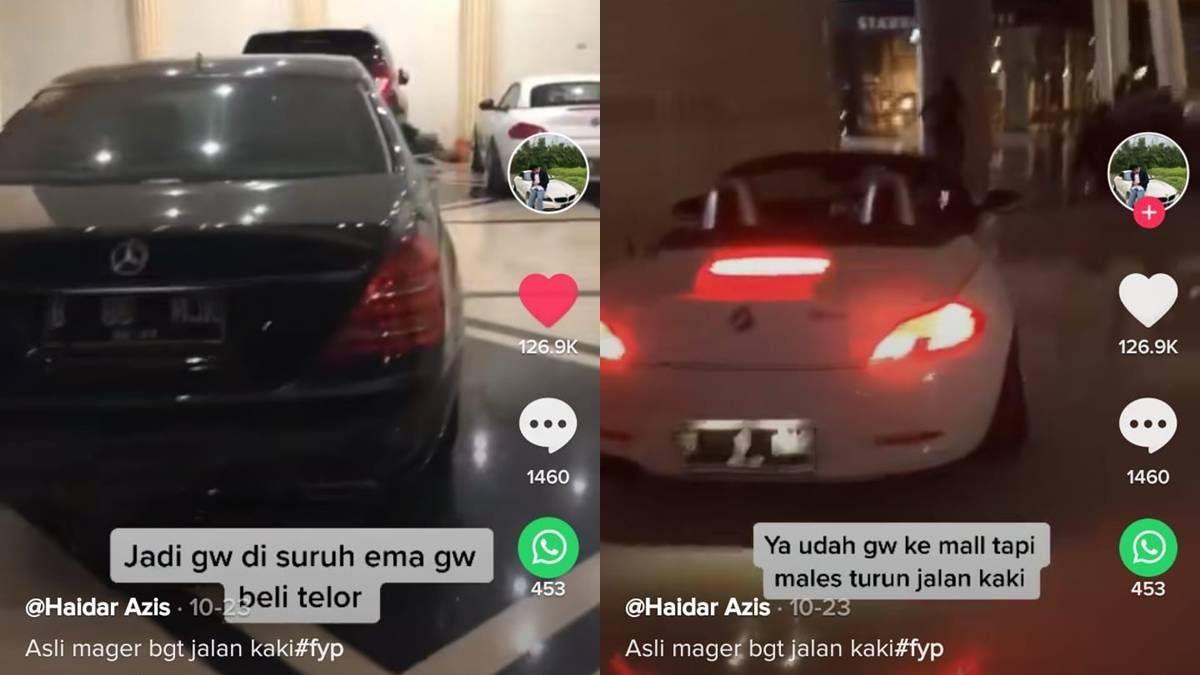 Anak Sultan Hanya Beli Telur Kendarai Mobil Mewah Mobil Mewah Mobil Kendaraan
