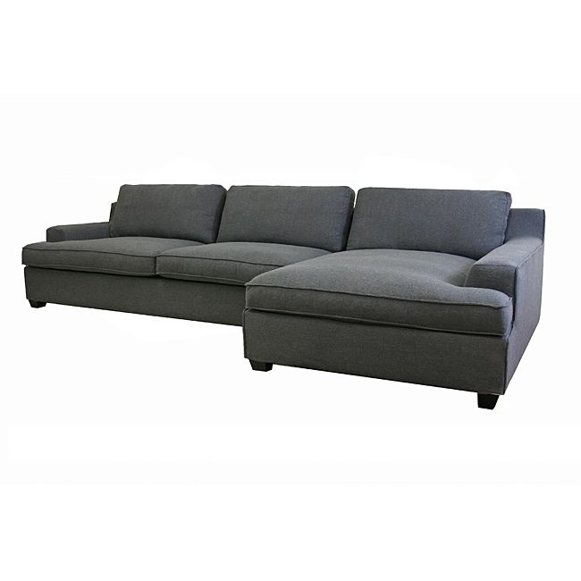 fort meets style in this stunning grey modern sectional sofa