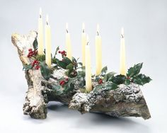 Make a Yule Log to Celebrate the Winter Solstice