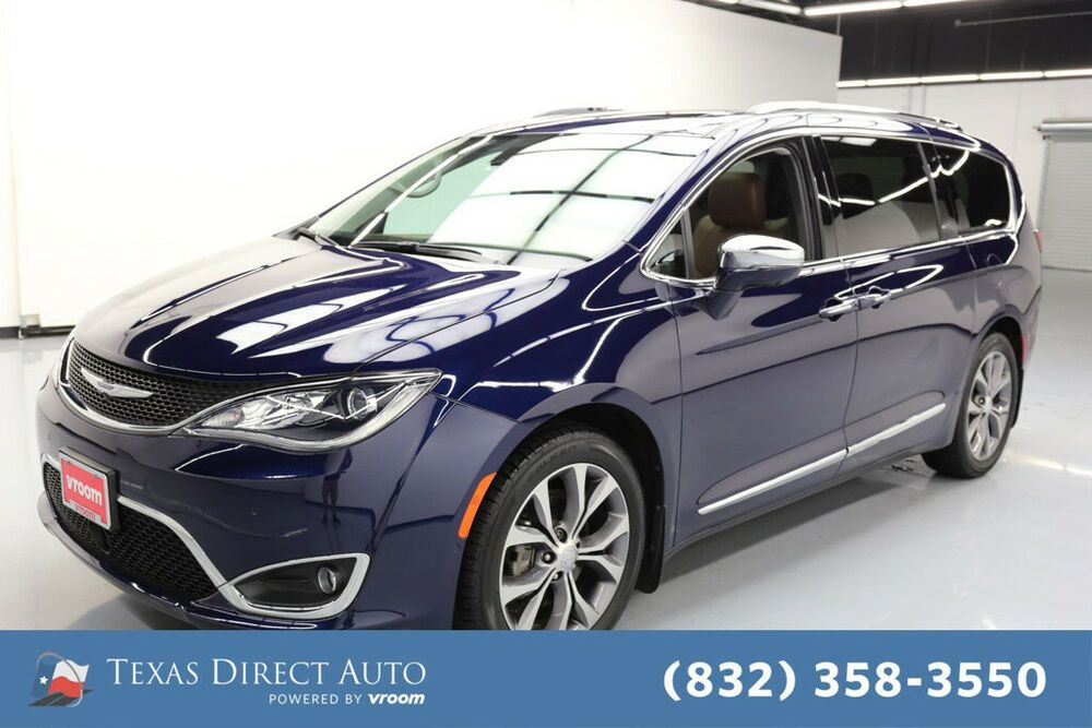 For Sale 2017 Chrysler Pacifica Limited Texas Direct Auto 2017