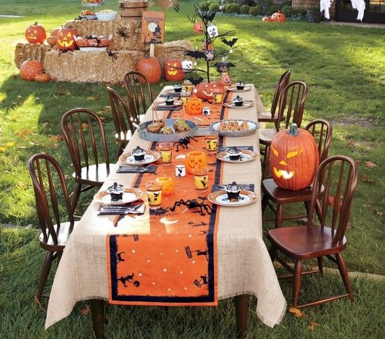 28 awesome outdoor halloween party ideas digsdigs - Outside Halloween Party Ideas