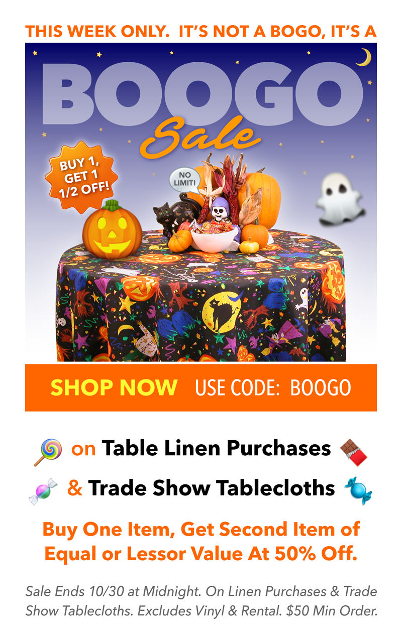 Halloween Boogo Sale For Every Item You Put In Your Cart You