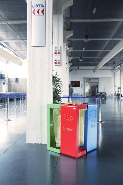 Gibillero recycling bin