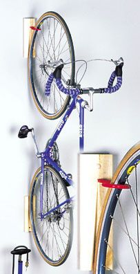 How Bad Is It For The Bike Front Wheel To Vertically Hang Bike For Storage Indoor Bike Storage Bike Storage Bike Storage Rack