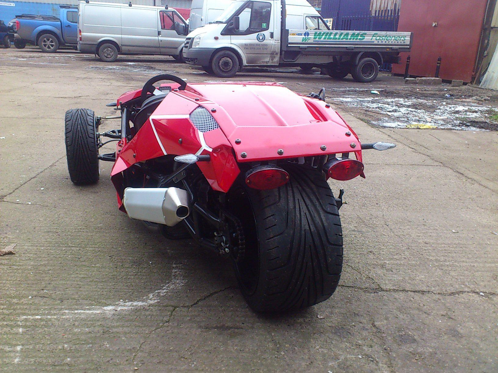 Awesome Street Legal 3 Wheeler Sports Car 6 000 Scorpionsportscars