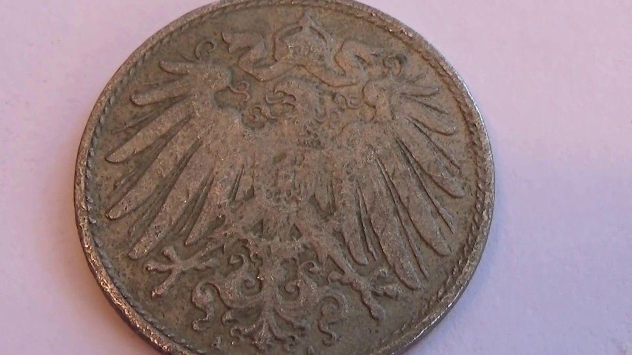 A ten cent 1899 deutsches coin