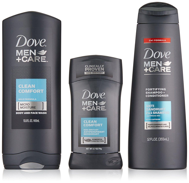 Usa Dove Men Care Everyday Gift Pack Clean Comfort Dove Fashion Fashionable Women Men Care Facecar Dove Shampoo And Conditioner Dove Men Care Dove Men
