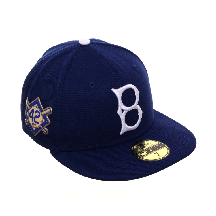 f68518421 New Era 59Fifty Fitted - Brooklyn Dodgers - Embroidered 'Jackie Robinson  42' on Right