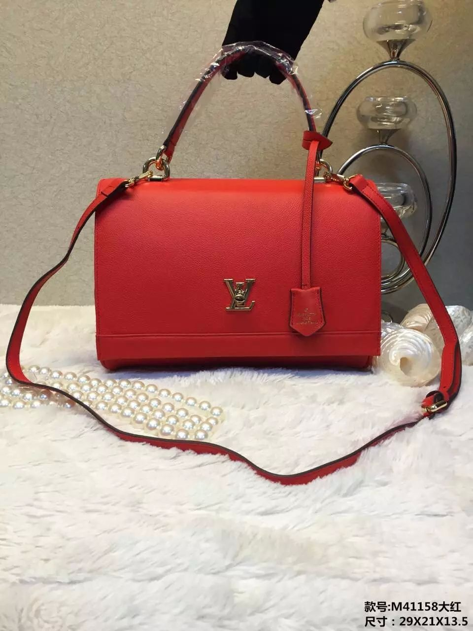 Louis Vuitton Epi Leather M41158 Red Bag 228 00 Abbags