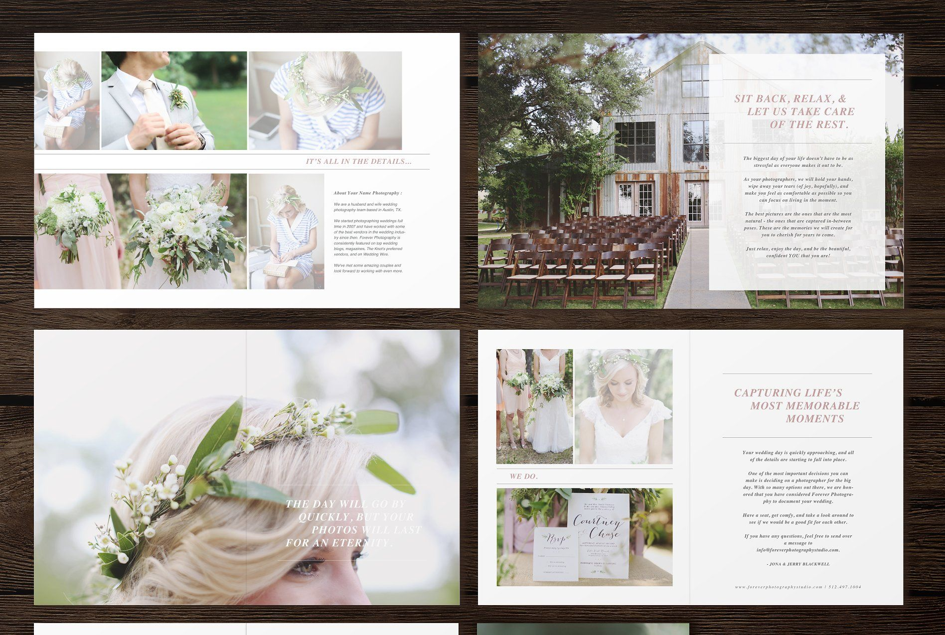 Wedding Magazine Template Wedding Magazine Template Bridal Guide Photography Magazine Template