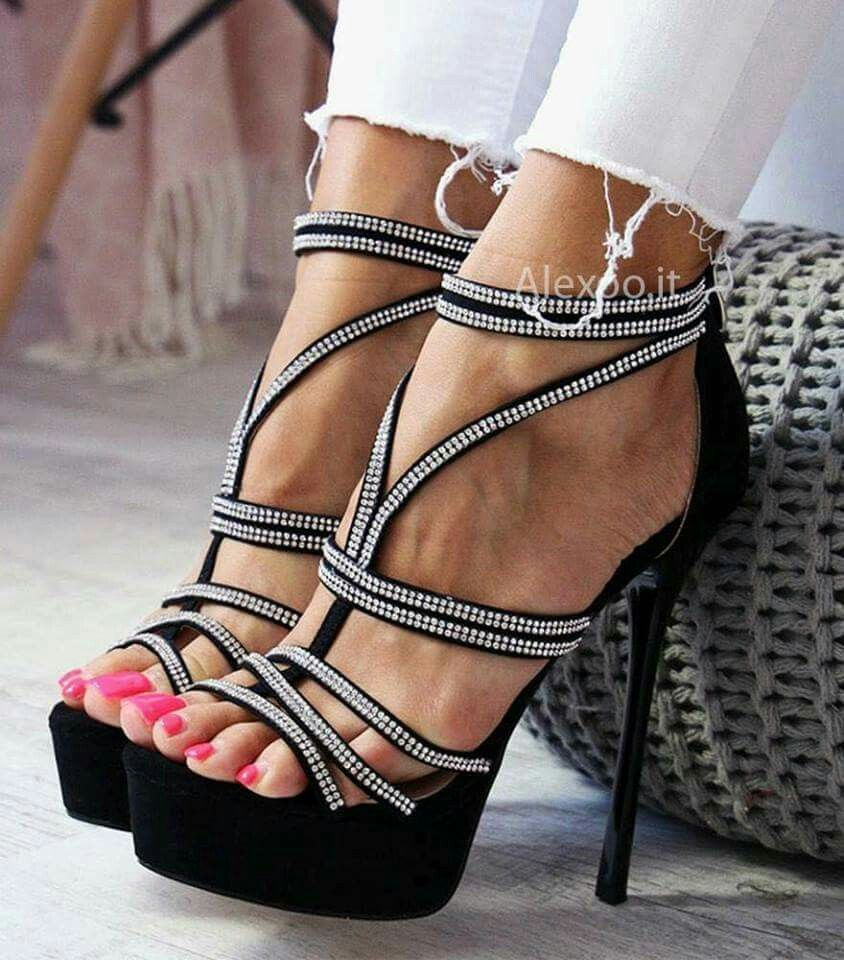 Pin by Douglas Thomas on High heels | Heels, Trendy high