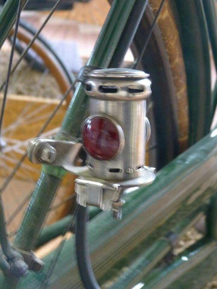 Rear Light On A 1908 Dursley Pedersen Antique Bicycles Vintage Bicycle Parts Vintage Bicycles