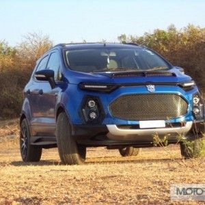 Check Out This Modified Ford Ecosport Of Motoroid Mezaan Anees