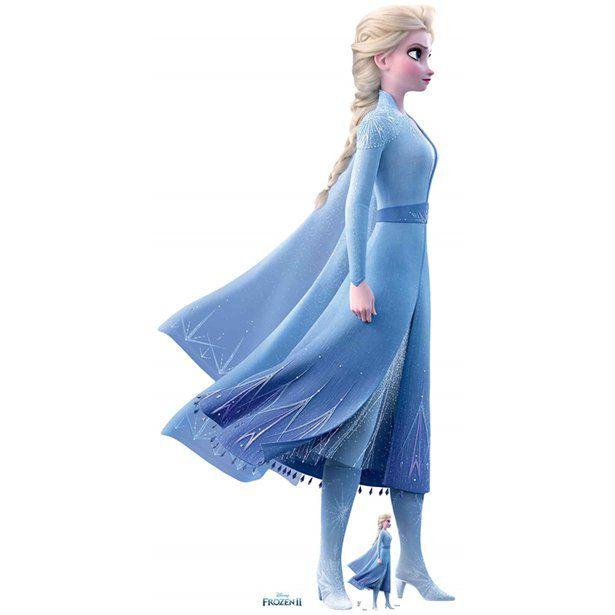 Disney Frozen 2 Elsa Lifesize Freestanding Cardboa