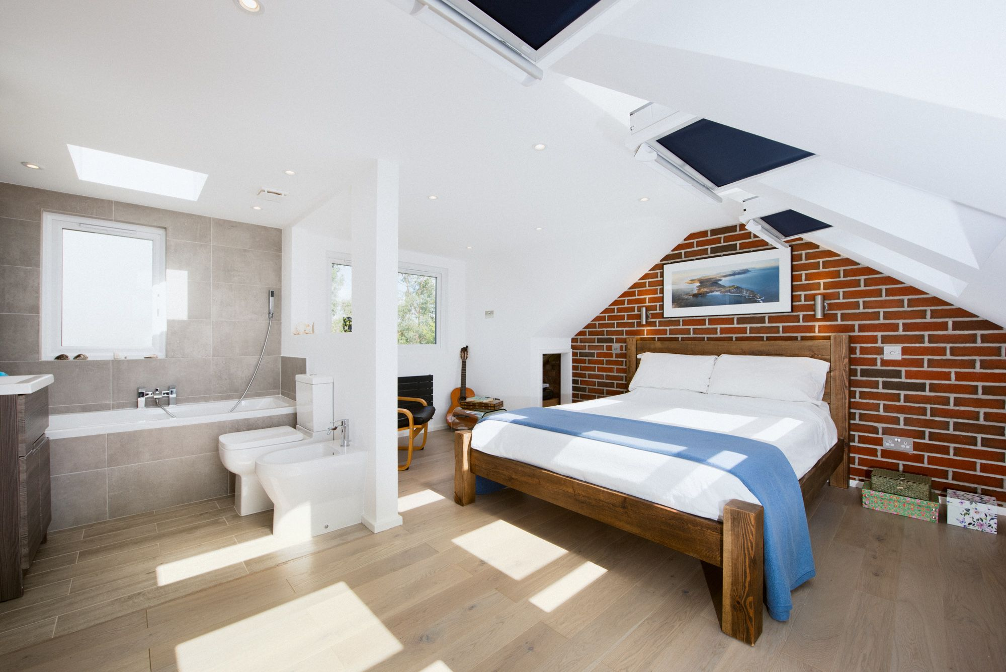 Master bedroom ensuite plans  Geoffrey and Santa transformed their twobedroom maisonette with an