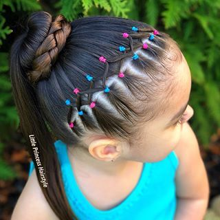 𝓐𝓭𝓻𝓲𝓪𝓷𝓪 𝓣. (Little Princess Hairstyle) • Instagram Photos And Videos Happybdayannasofia - Hair Beauty