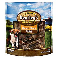 Dentley S Nature S Chew Pig Ear Dog Treat Pig Ears Natural Pet