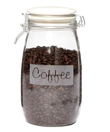 Loving this 'Coffee' Hermetic Jar on #zulily! #zulilyfinds