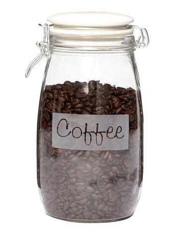 Loving this 'Coffee' Hermetic Jar on #zulily! #zulilyfinds