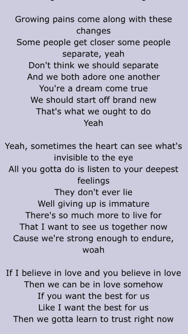 Trust by Justin Bieber | Lyrics | Justin bieber, Lyrics