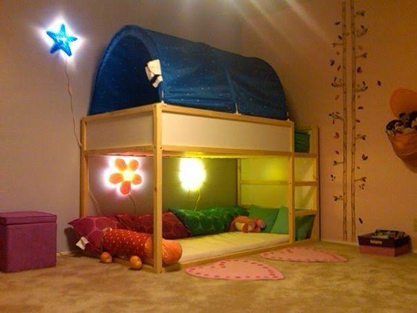 Como hacer habitaciones montessori para tus hijos - Ikea letto montessori ...