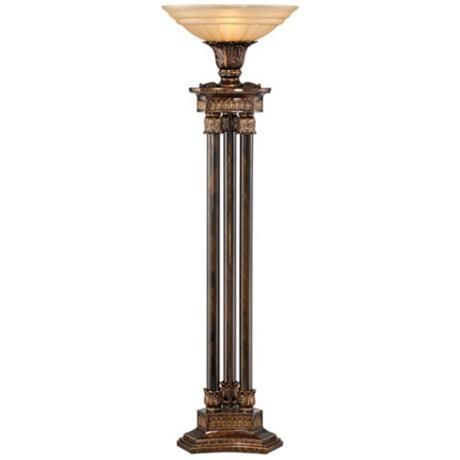 Kathy Ireland La Grande Torchiere Floor Lamp Lampsplus Com