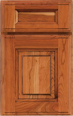 Durham Cherry In Wheat Burnished Cherry Door Styles Lowes