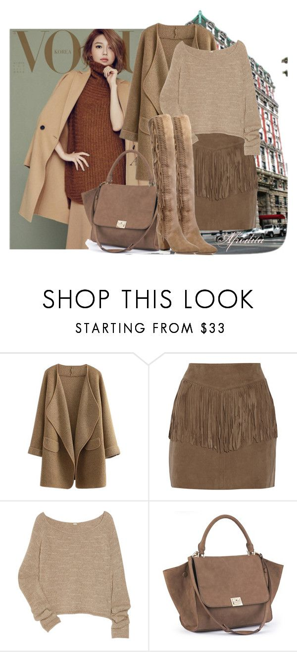 """""""autumn"""" by lusi-tu ❤ liked on Polyvore featuring W118 by Walter Baker, The Row and Rebecca Minkoff"""