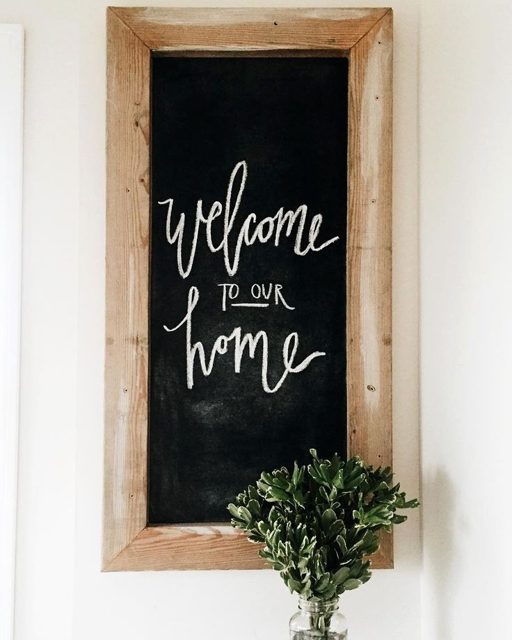 25 Inventive Chalkboard At Home Ideas In 2020