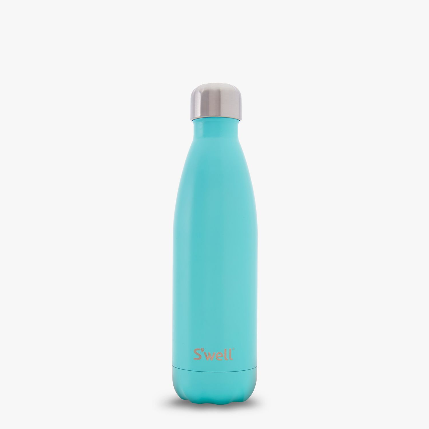 The New Swell Bottle Turquoise Blue Featured In A Teal