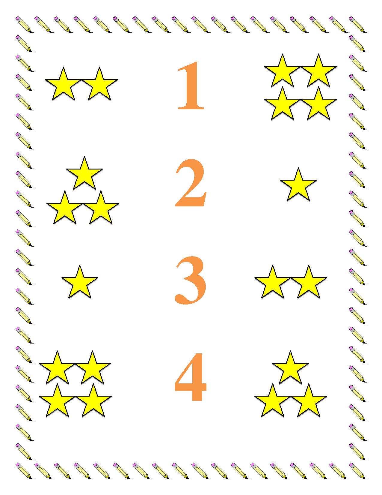 worksheet Math Worksheets Preschool preschool worksheets math worksheet numbers 1 4 kids 4