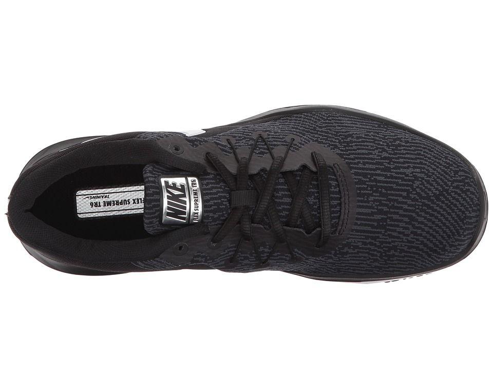 be40896f631 Nike Flex Supreme TR 6 Training Women s Cross Training Shoes Black White  Anthracite