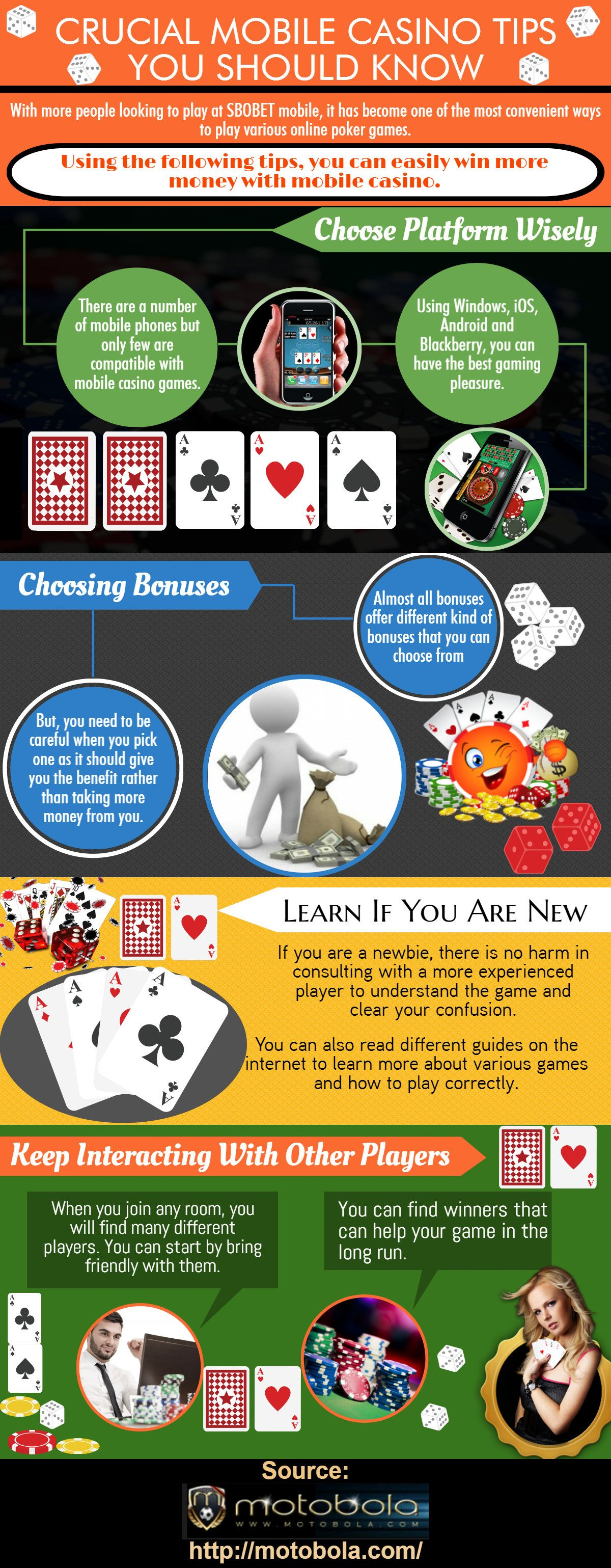 Simple casino app