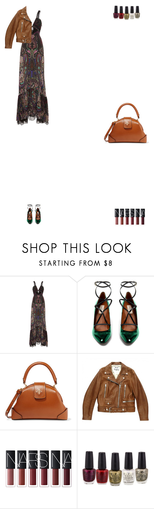 """Grace"" by zoechengrace ❤ liked on Polyvore featuring Roberto Cavalli, Valentino, MANU Atelier and Acne Studios"