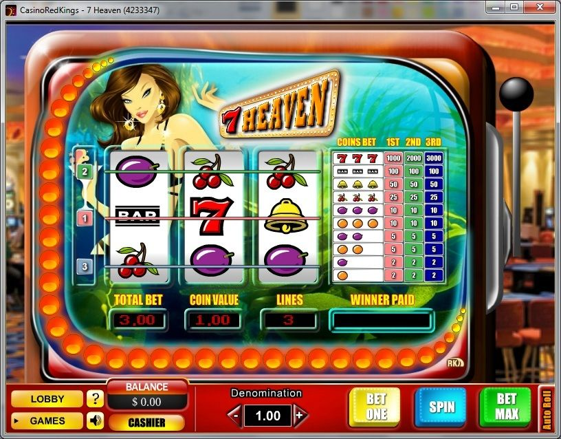 7 Heaven slot by Skill on Net Online video games, 7th