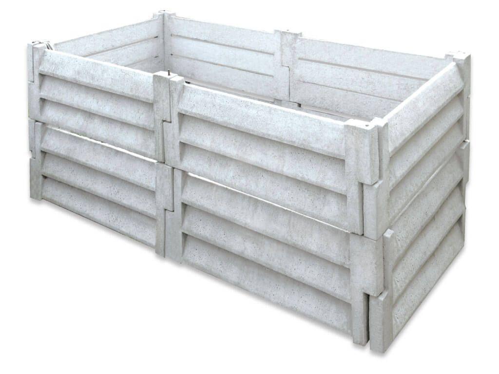 Znalezione Obrazy Dla Zapytania Kompostownik Z Bloczkow Betonowych Outdoor Storage Box Outdoor Storage Outdoor Decor