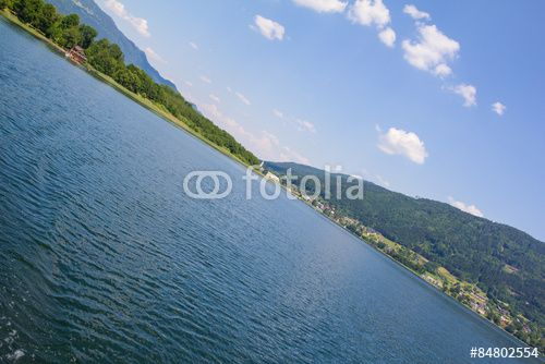#View To #Ossiach From #Ship At #LakeOssiach @fotolia @fotoliaDE #fotolia #ktr15 @carinzia #landscape #nature #summer #season #spring #outdoor #mountains #carinthia #austria #travel #holidays #vacation #leisure #sightseeing #bluesky #hiking #stock #photo #portfolio #download #hires #royaltyfree
