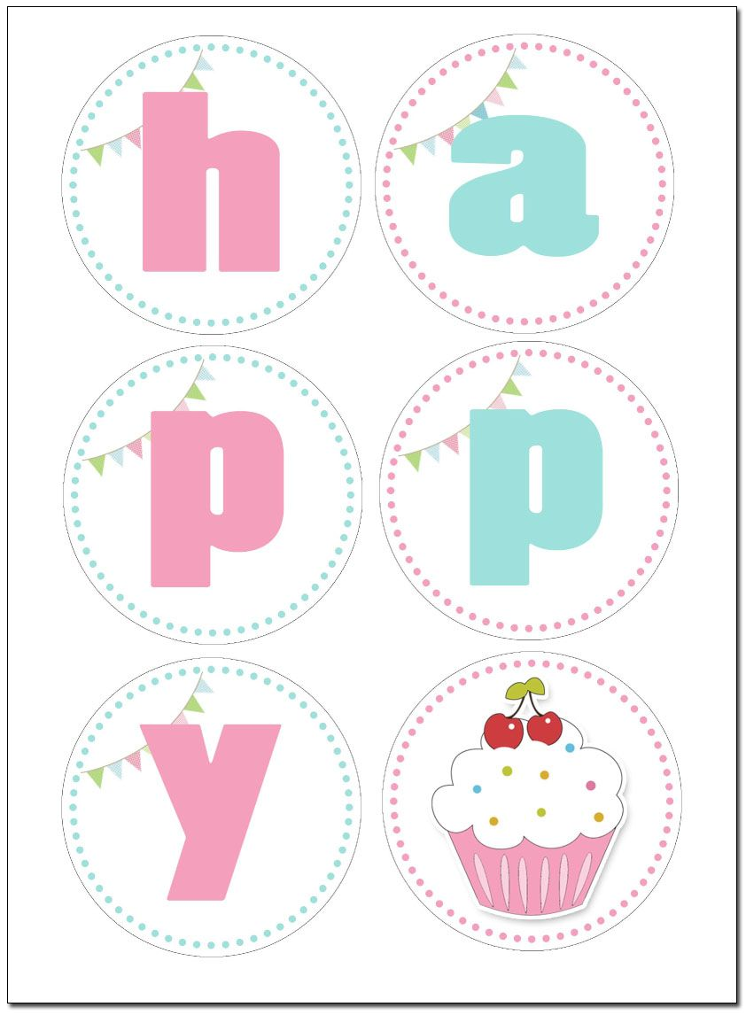 Cupcake Themed Birthday Party with FREE Printables | Birthdays ...