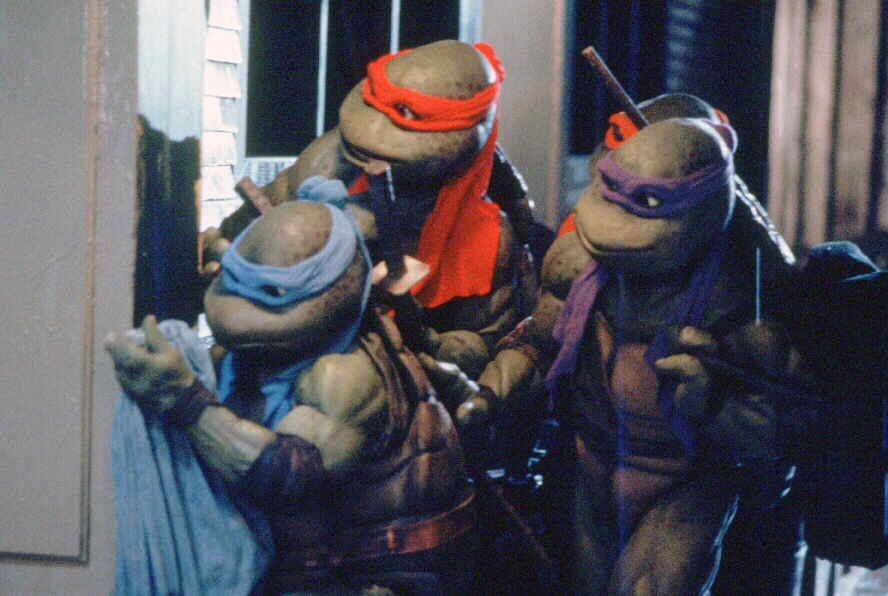 Leo, Mikey, Don and Ralph!