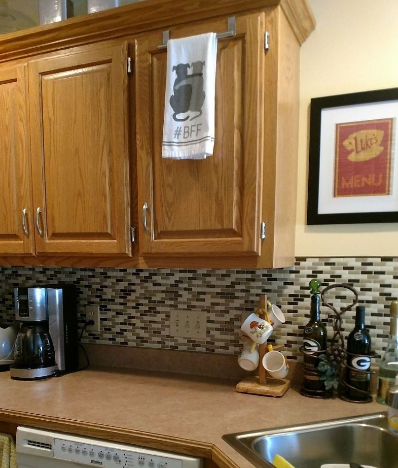 Diy Tiled Kitchen Backsplash With Images Kitchen Tiles