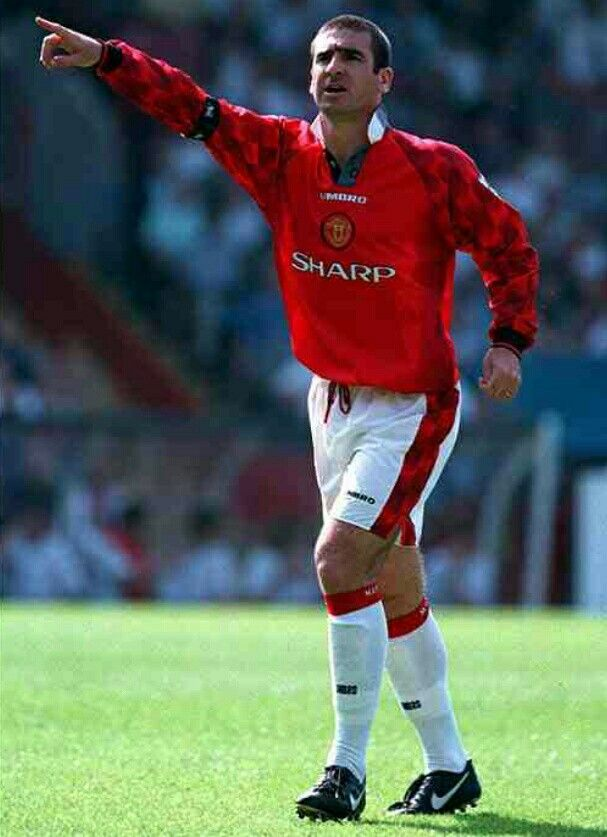 Legend eric cantona france and manchester united retro shirts available with player printing. Eric Cantona of Man Utd in 1996. | Manchester united ...