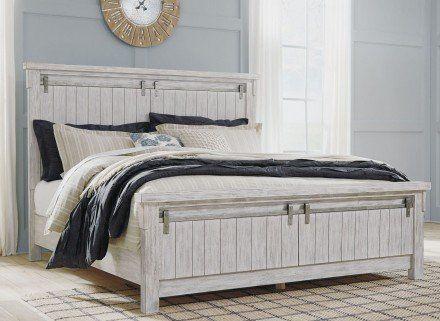 Best Brashland White Panel Bedroom Set In 2020 Serene Bedroom 400 x 300